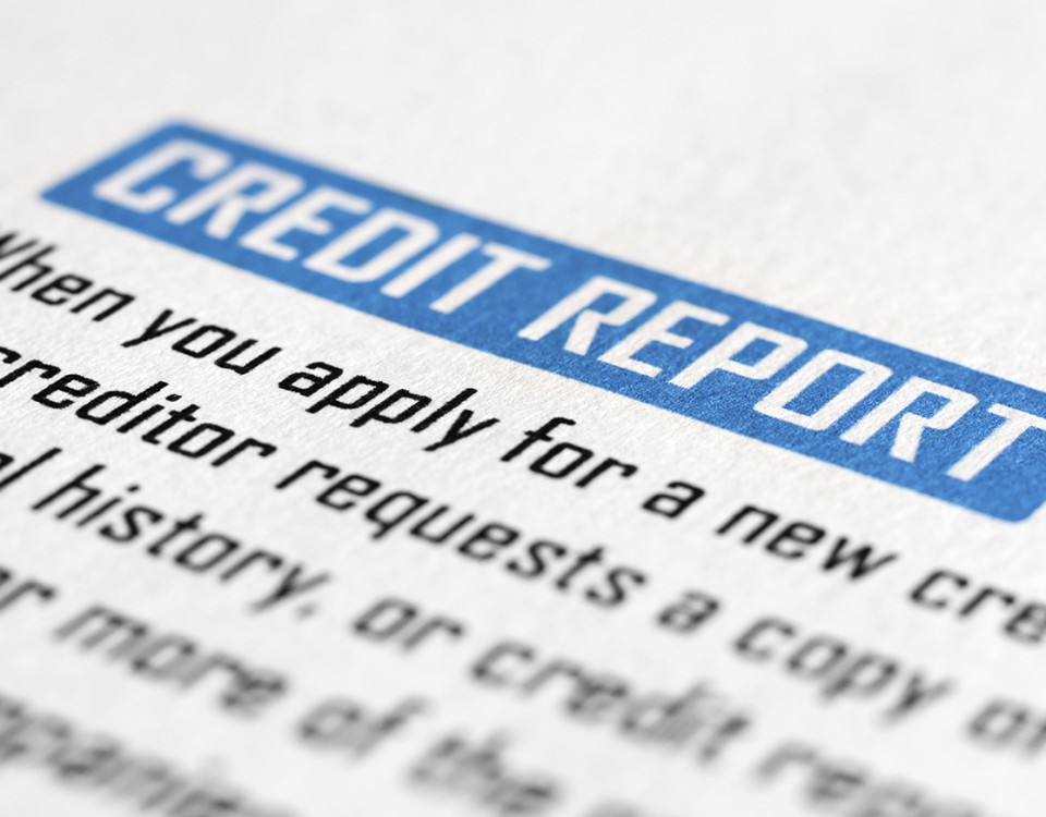 Who can use my credit report
